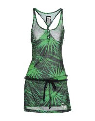 Franklin And Marshall Dresses Short Dresses Women Green