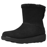 Fitflop Supercush Mukloaff Ankle Boots All Black