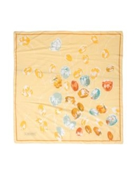 Lancetti Square Scarves Yellow