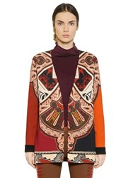 Etro Printed Viscose Crepe Jacket
