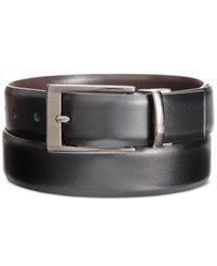 Alfani Men's Big And Tall Reversible Grained Belt Only At Macy's Black Brown
