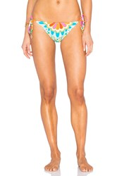 Trina Turk Tamarindo Tie Side Hipster Bottom Green