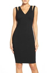 Ali And Jay Women's Cutout Ponte Sheath Dress