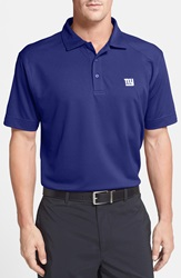 Cutter Buck 'New York Giants Genre' Drytec Moisture Wicking Polo Big And Tall Tour Blue