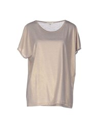 Gigue Topwear T Shirts Women Platinum