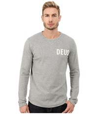 Deus Ex Machina Jake Long Sleeve Tee Grey Marle Men's T Shirt Gray