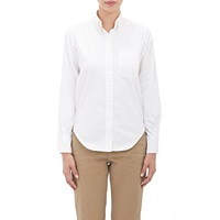 Oxford Cloth Button Down Shirt White