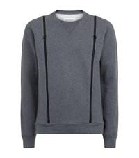 Maison Martin Margiela Maison Margiela Side Zip Sweater Male Grey