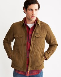 Lee Quilted Jacket Dark Olive