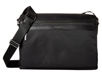 Michael Kors Kent Lightweight Nylon Large Messenger Black Messenger Bags