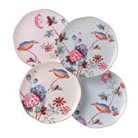 Wedgwood Cuckoo Tea Plate Set Of 4