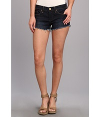 Blank Nyc Little Queenie Cut Off Short In Denim Blue Denim Blue Women's Shorts