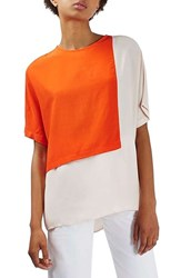 Topshop Women's Colorblock Tee