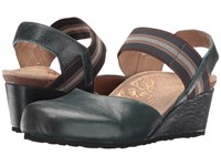 Aetrex Olivia Pacific Blue Women's Wedge Shoes