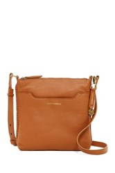 Lucky Brand Leather Ali Crossbody Brown