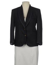 M.Grifoni Denim Suits And Jackets Blazers Women Dark Blue