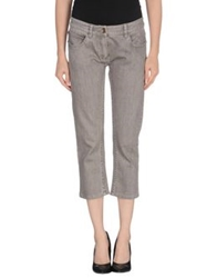 Plein Sud Jeanius Denim Pants Grey