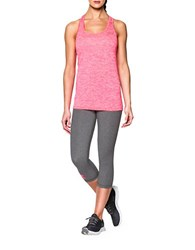 Under Armour Heathered Twist Tech Tank Top Pink