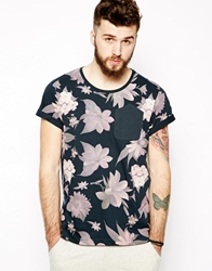 Dansk T Shirt With Floral Print Blue