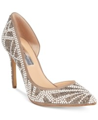 Inc International Concepts Women's Kenjay D'orsay Pumps Only At Macy's Women's Shoes Natural Pearl