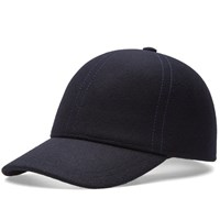Comme Des Garcons Shirt Boy Fitted Baseball Cap Blue