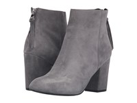 Steve Madden Cynthia Grey Suede Women's Boots Gray