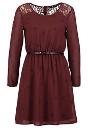 Only Onlstella Summer Dress Sassafras Dark Purple