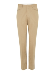 Chester Barrie Drill Trousers Tan