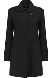 Raoul Wool Blend Coat Black