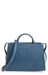 Matt And Nat 'Portia' Vegan Leather Satchel Blue Moonstone