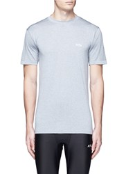 Athletic Propulsion Labs Seamless Short Sleeve Running T Shirt Grey