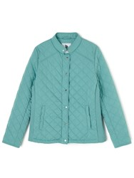 Dash Short Quilted Coat Green