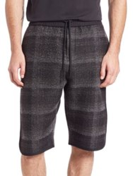 Public School Tryan Elongated Shorts Black