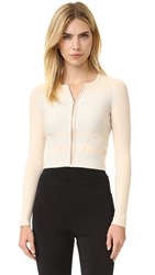 Narciso Rodriguez Knit Cardigan Soft White