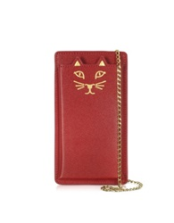 Charlotte Olympia Feline Grained Leather Iphone 6 Case
