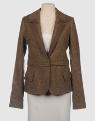 Couture Du Cuir Blazers Cocoa