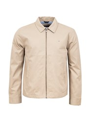 Eden Park Plain Cotton Jacket Brown