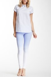 Black Orchid Ombre Mid Rise Jegging White