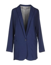 Kontatto Suits And Jackets Blazers Women Blue