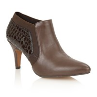 Lotus Arnie Court Shoes Peat Brown