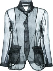 Rundholz Sheer Jacket Black