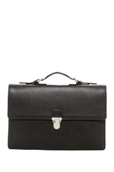 Cole Haan Pebbled Leather Brief Black
