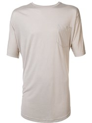 Publish Long Length T Shirt Nude And Neutrals