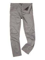 Jack And Jones Slim Fit Twisted Chino Grey