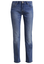 Lee Marion Straight Leg Jeans Blue Sign Stone Blue