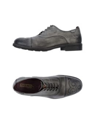 Pikolinos Lace Up Shoes Steel Grey