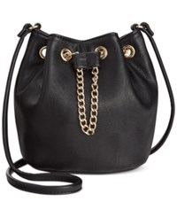 Inc International Concepts Pia Mini Bucket Bag Only At Macy's Black