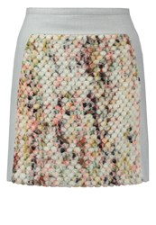 Banana Republic Popcorn Mini Skirt Multicolor Multicoloured