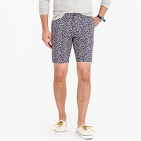 J.Crew 9 Lightweight Cotton Short In Daisy Floral