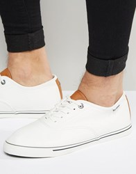 Ben Sherman Teni Oxford White White
